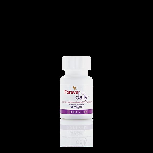 فوراور دیلی (ویتامین ها و مواد معدنی کامل و ضروری روزانه) (Forever Daily (Vitamins and Minerals with AOS Complex